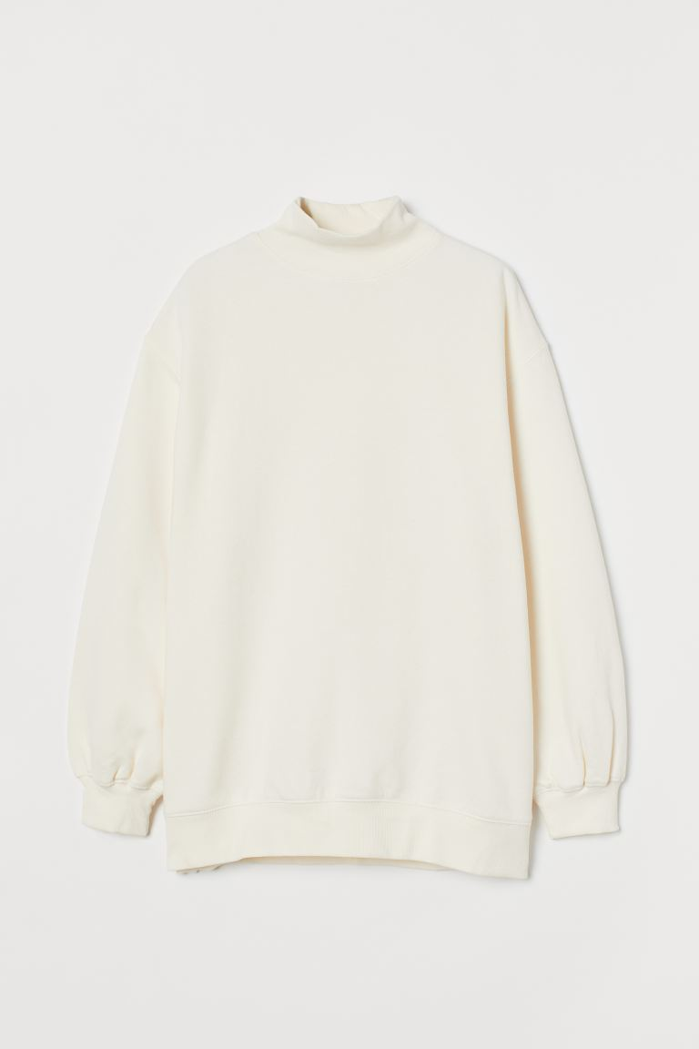 Oversized Sweatshirt - Cream - Ladies | H&M US
