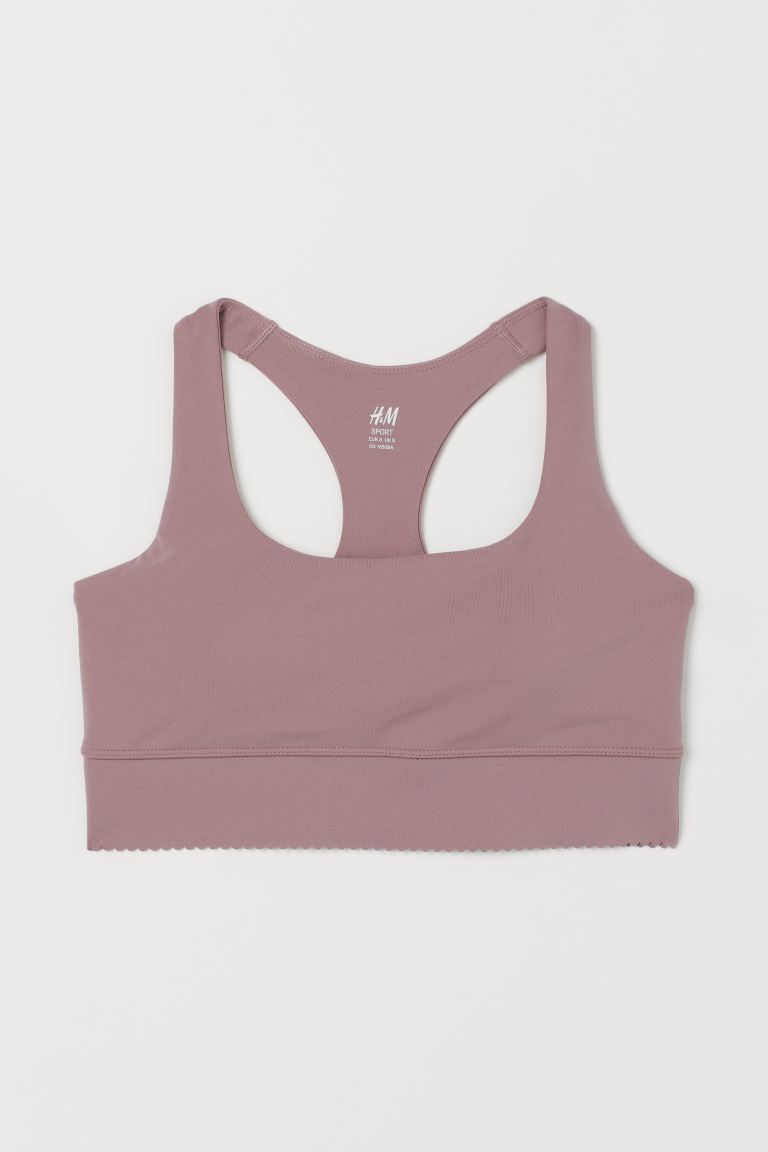 Shaping Sport-BH High Support - Altrosa - DAMEN | H&M CH