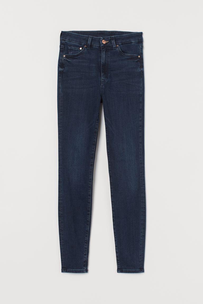 Embrace High Ankle Jeans - Dark blue - Ladies | H&M GB