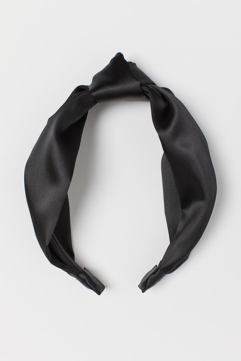 Hairband with Knot - Black - Ladies | H&M US