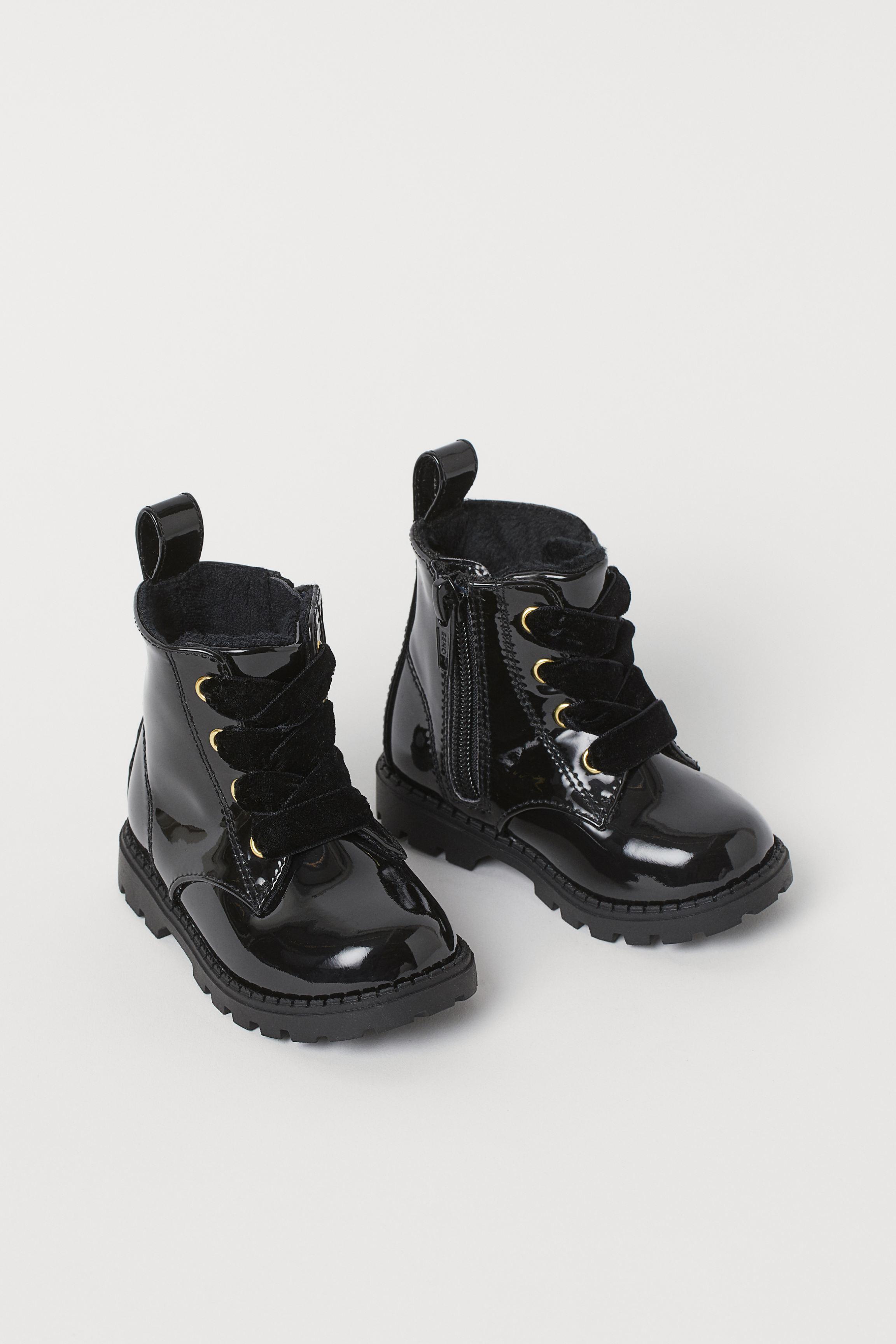 pe focuri de picioare arata bine vanzare pantofi 100% de înaltă calitate berber Sarımsı baskın ghete imblanite copii hm - travelsinmind.com
