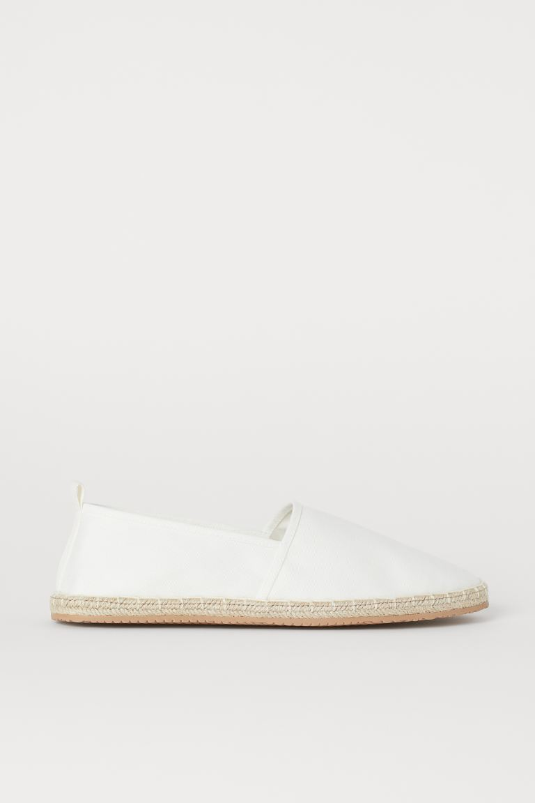 Espadrilles - White - Men | H&M IN