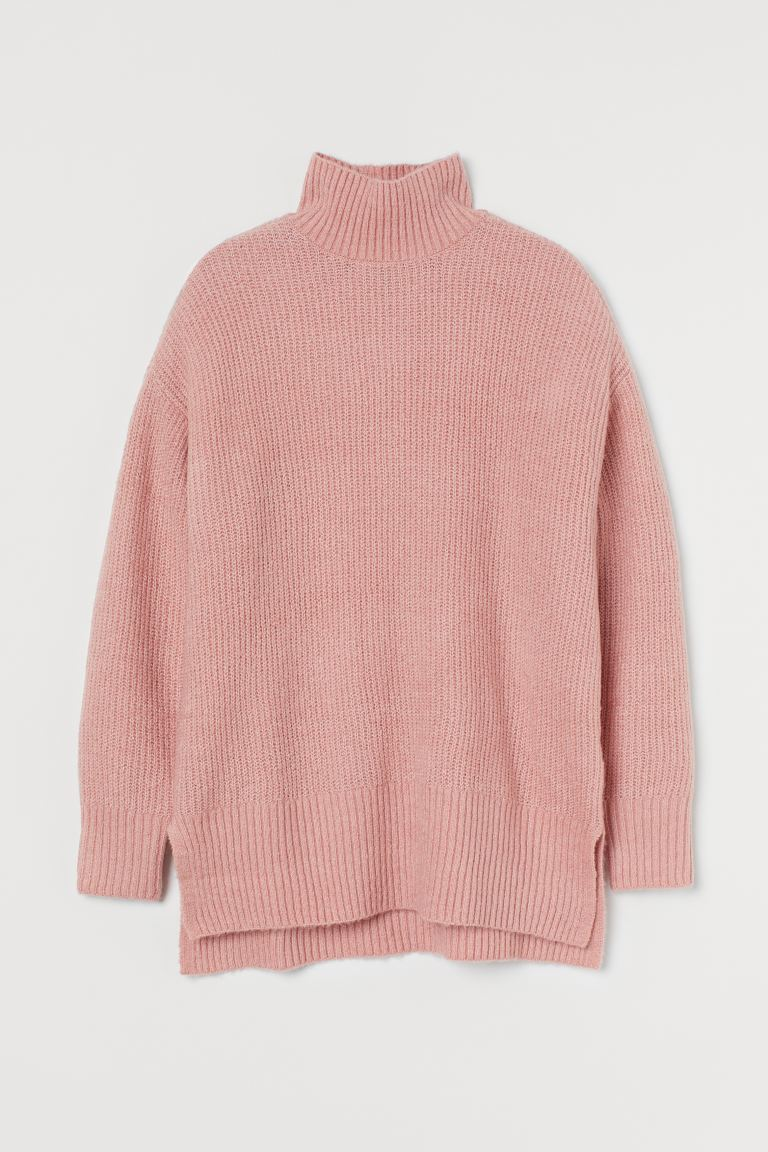 Strickpullover - Hellrosa - Ladies | H&M AT
