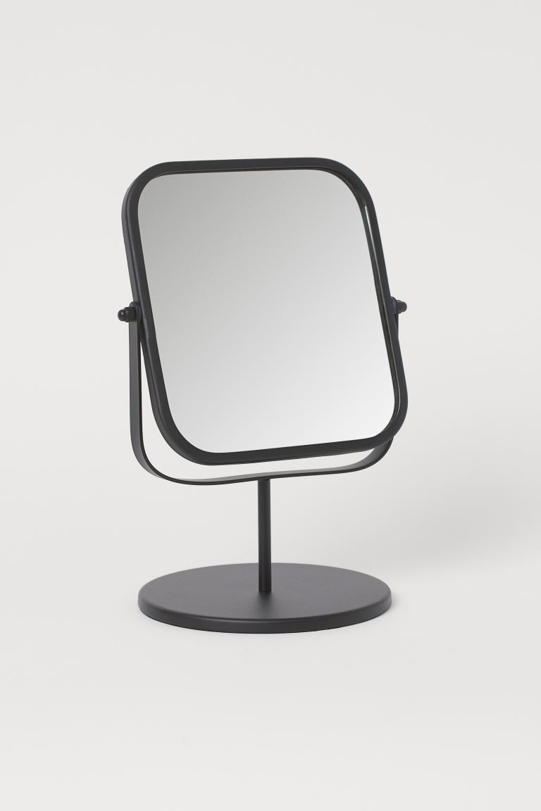 Metal Table Mirror - Black - Home All | H&M US