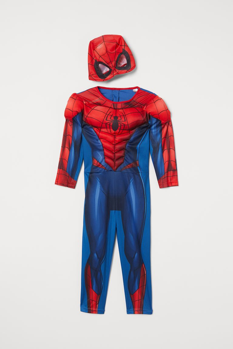 Superhero Costume - Red/Spider-Man - Kids | H&M US