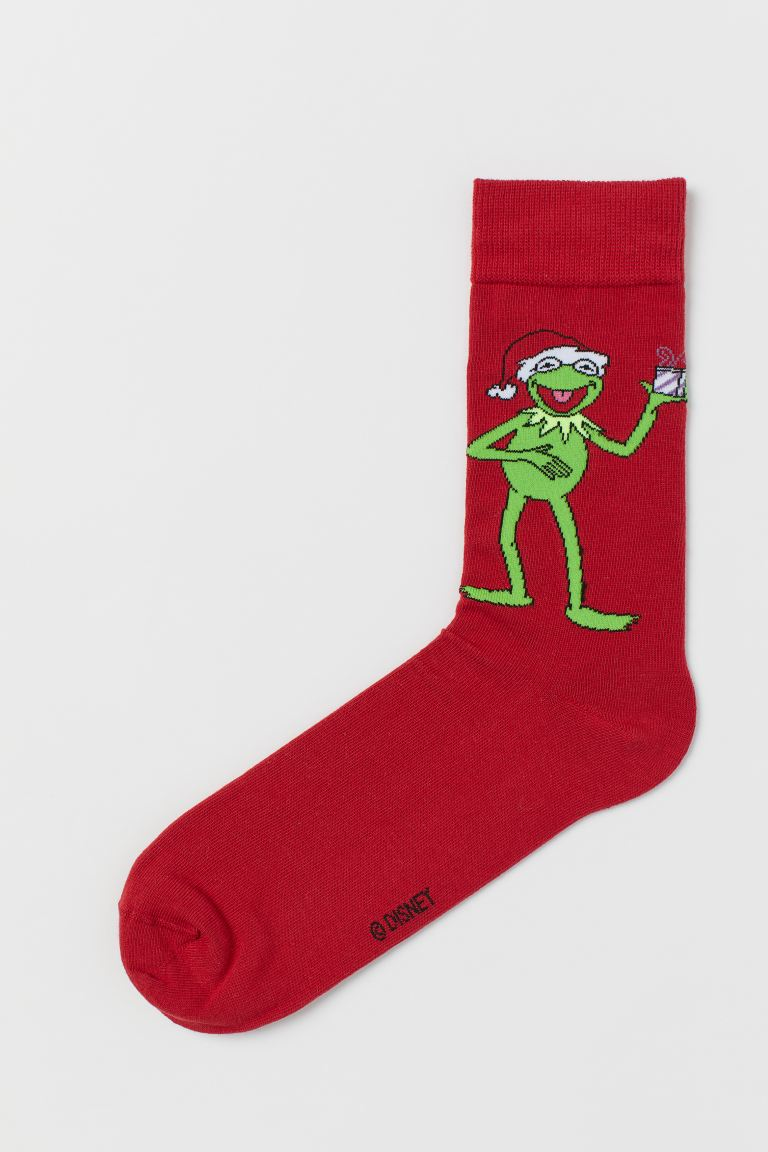 Socks - Red/The Muppets - Men | H&M IE