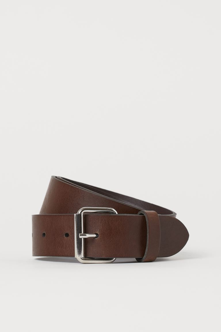 Belt - Dark brown - Men | H&M
