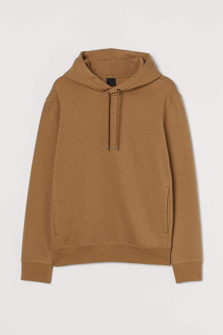 Hooded top - Dark beige - Men | H&M IN