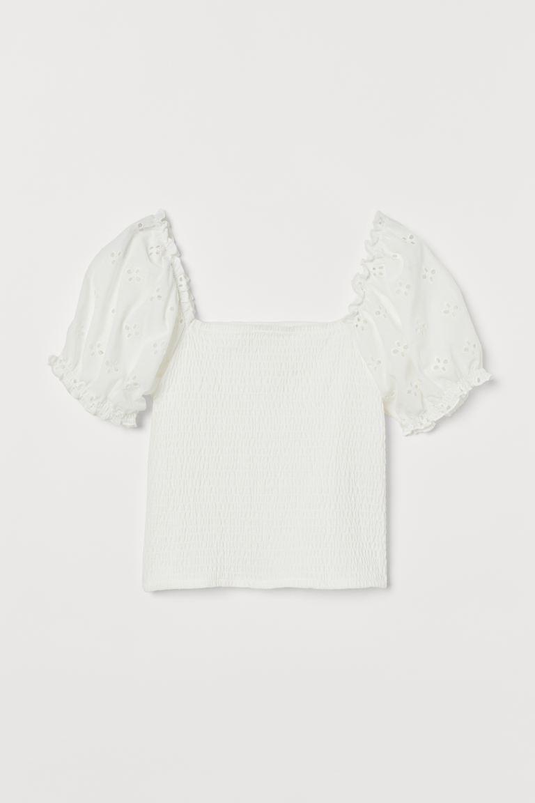 Kundinnen-Liebling: Gesmoktes Shirt