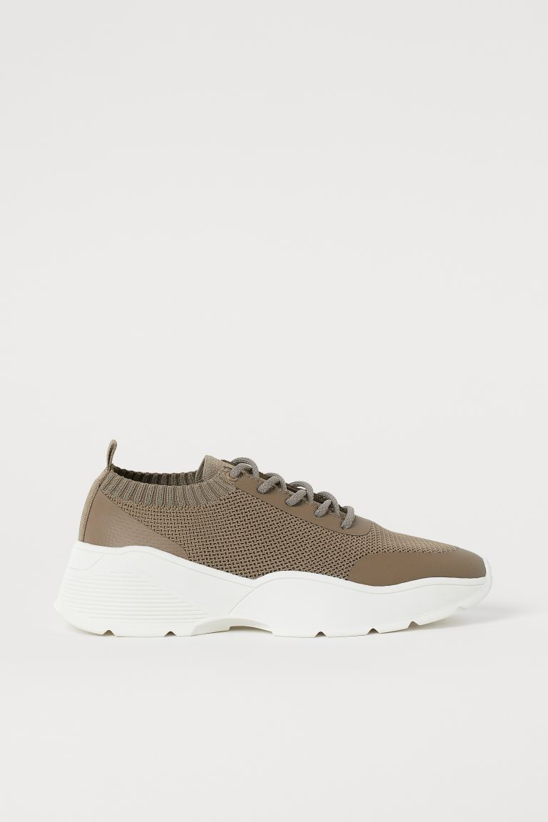 Fully fashioned Sneaker - Greige - Ladies | H&M AT