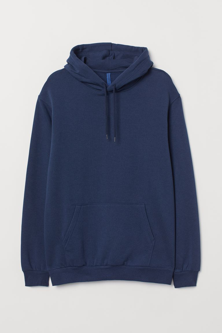 Relaxed-fit Hoodie - Dark blue - Men | H&M CA