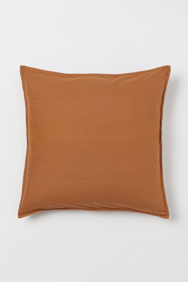 Solid-color Cushion Cover - Brown - Home All | H&M US