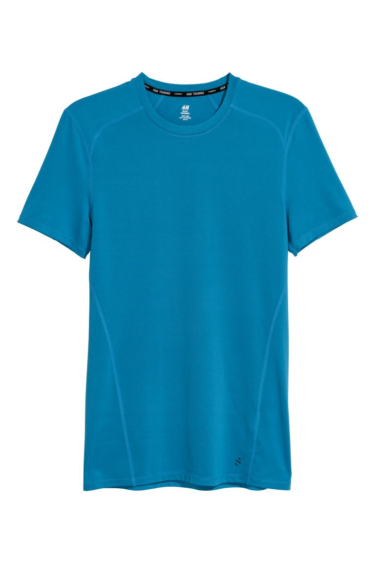 Sports top - Blue - Men | H&M GB