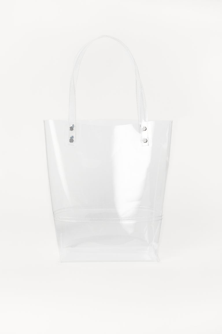 Transparenter Shopper - Transparent - Ladies | H&M DE