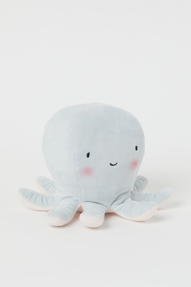 Soft toy - Light blue/Octopus - Home All | H&M IE
