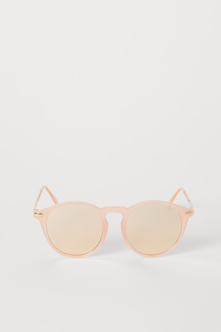 Sunglasses - Powder pink/rose gold-colored - Ladies | H&M US