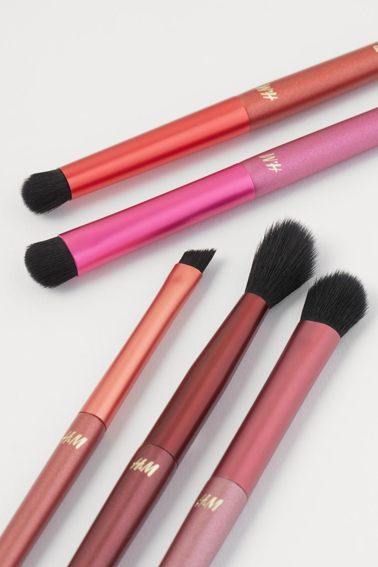 Make-up brushes - Rosa - DONNA | H&M IT