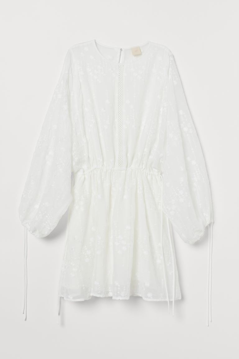 Airy tunic - White - Ladies | H&M IE
