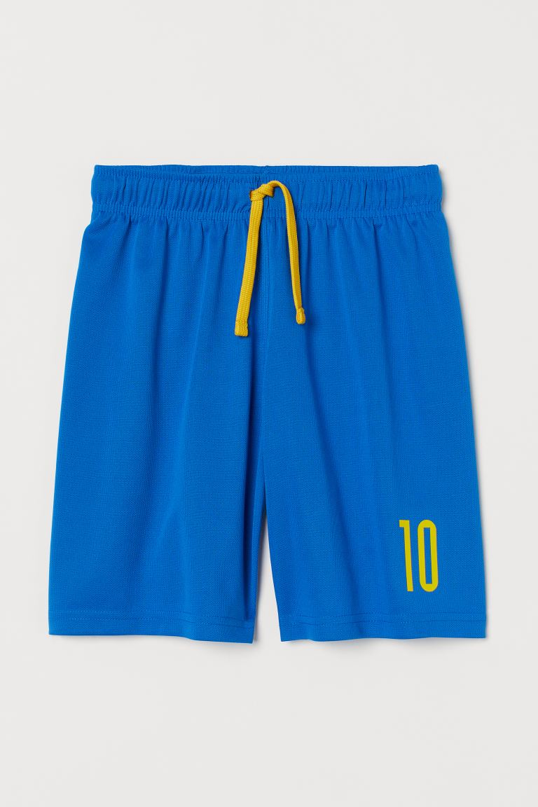 Short de football - Bleu/jaune - ENFANT | H&M FR