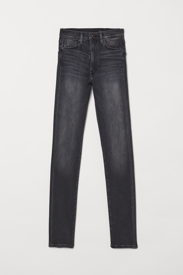 Shaping Skinny High Jeans - Gris oscuro - MUJER | H&M ES
