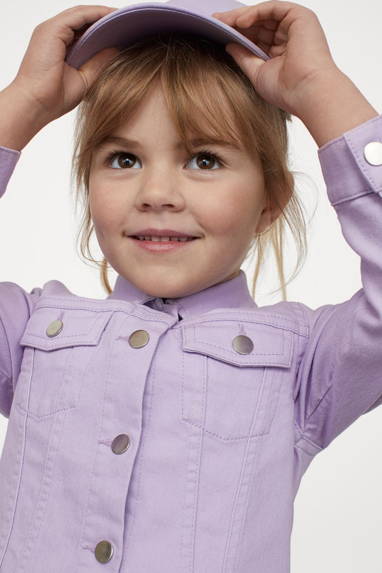 Twill Jacket - Light purple - Kids | H&M US