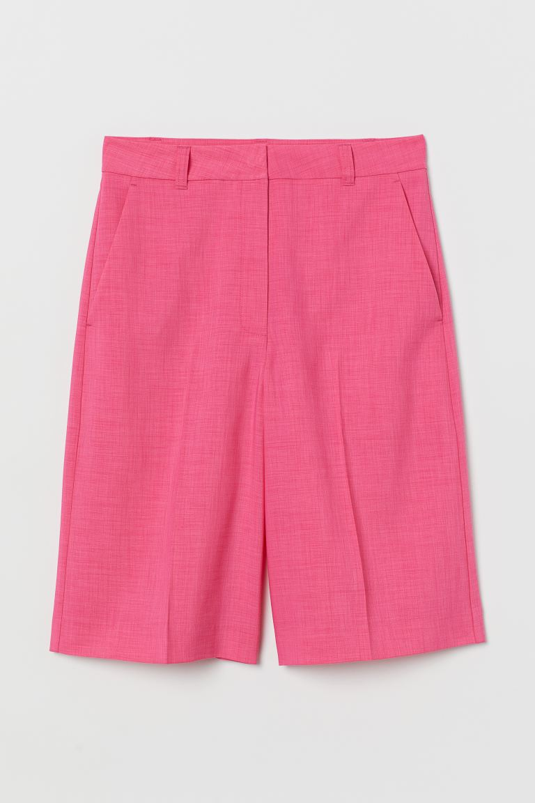 Bermuda shorts - Cerise - Ladies | H&M GB