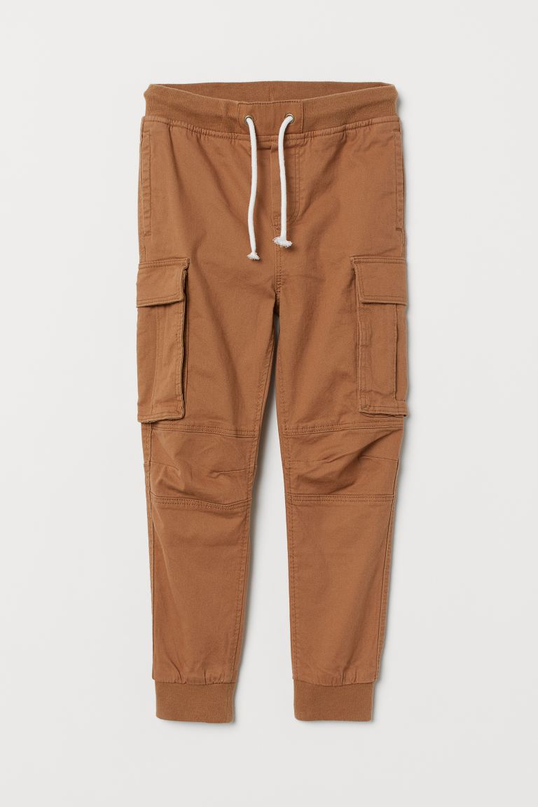 Cargo trousers - Dark beige - Kids | H&M
