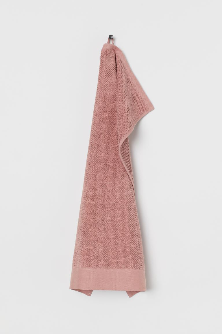 Serviette en coton - Vieux rose - Home All | H&M FR