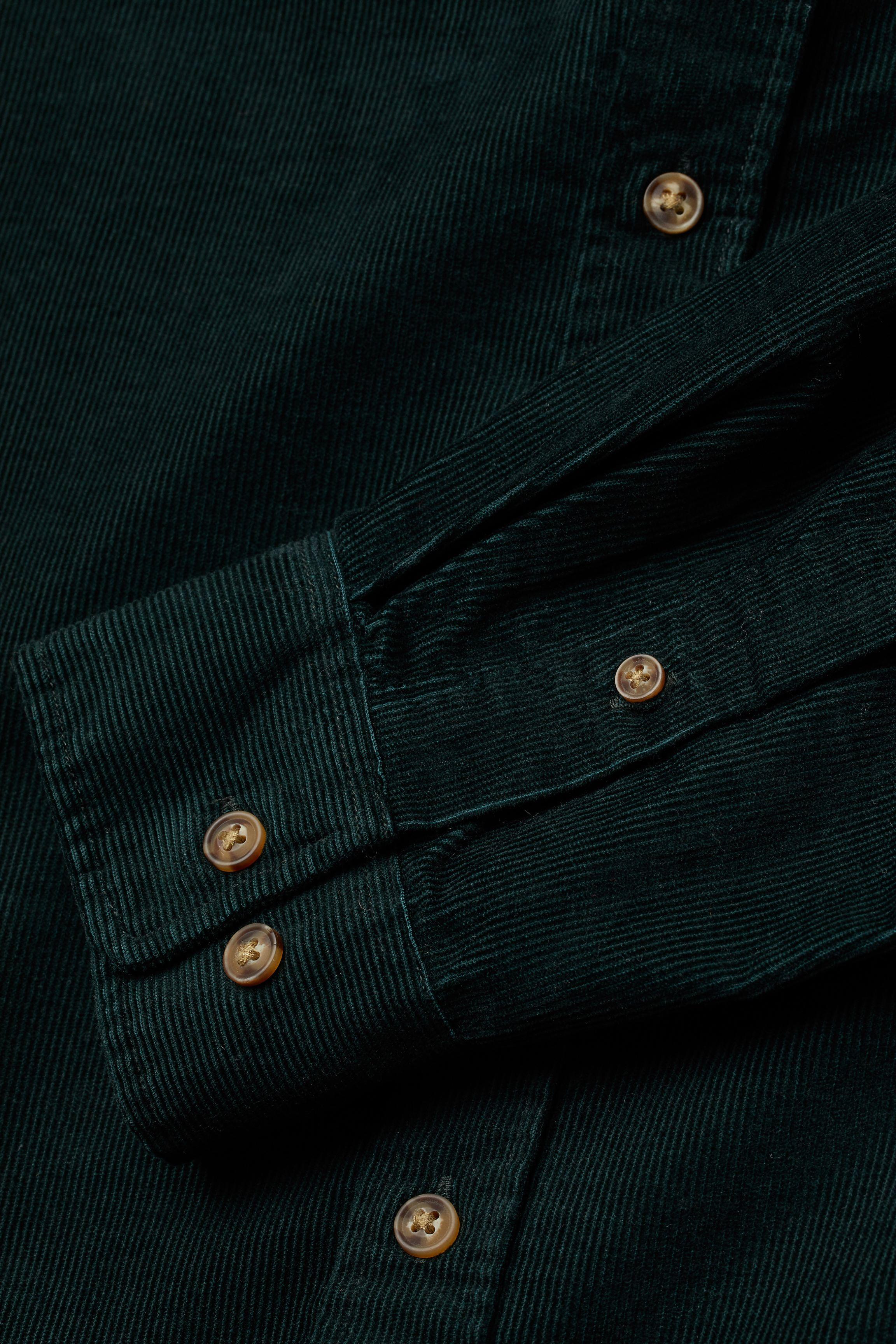 Regular Fit Corduroy Shirt