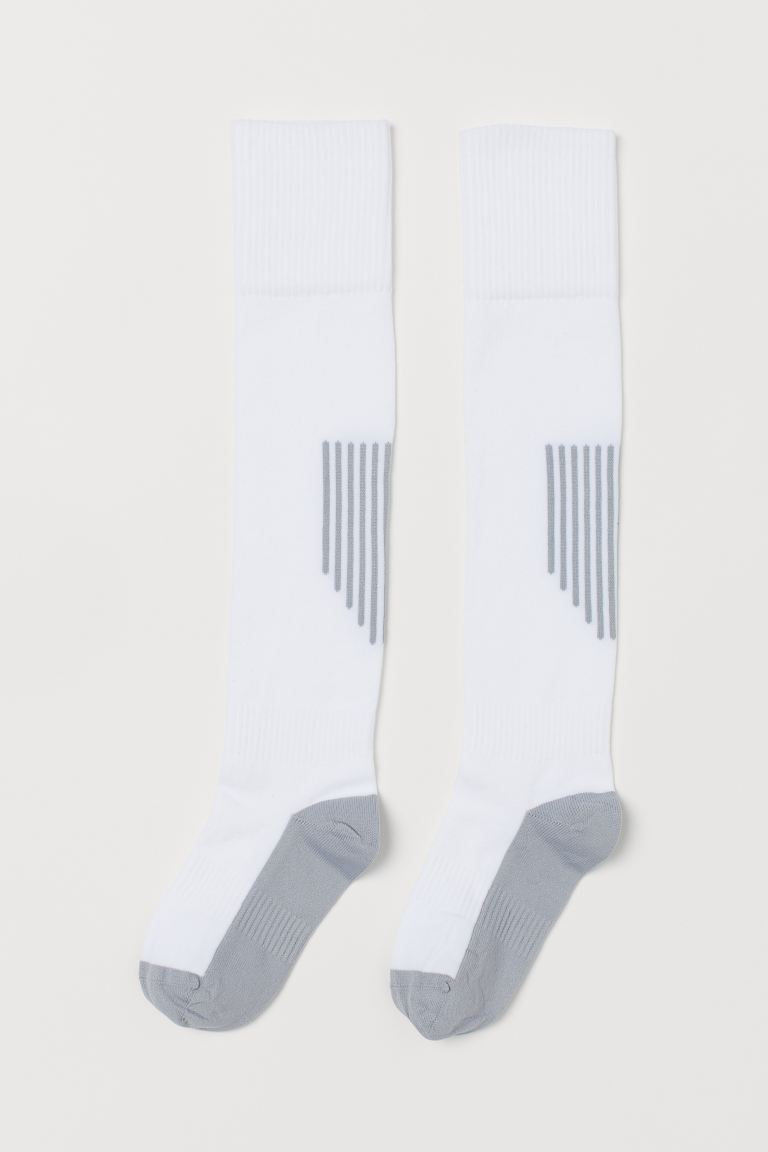 2-pack Soccer Socks - White - Kids | H&M CA