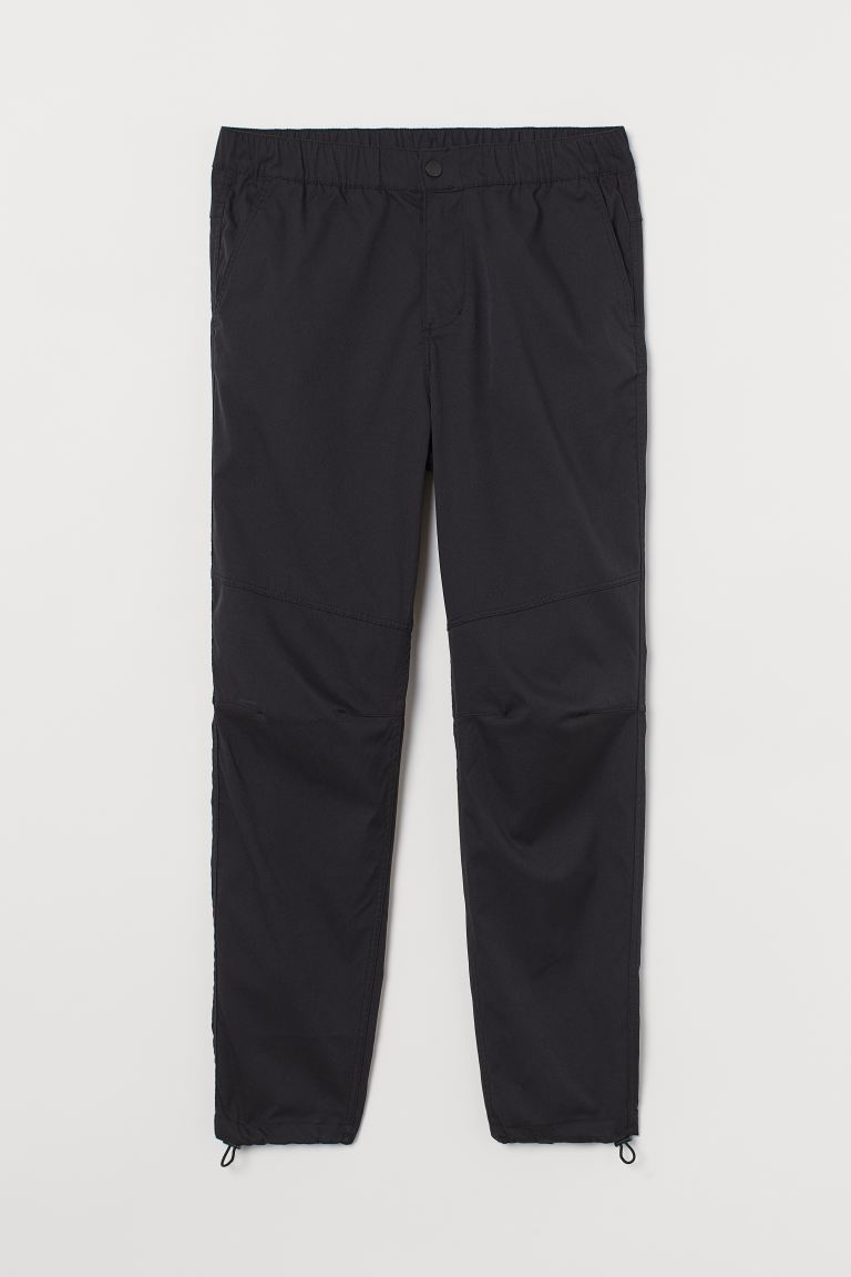 Pantalon jogger Slim Fit - Noir - HOMME | H&M BE
