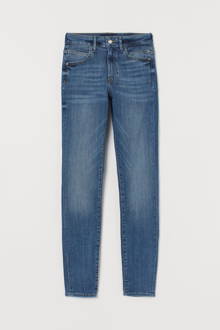 Push up shaping High Jeans - Denimblå - DAM | H&M SE
