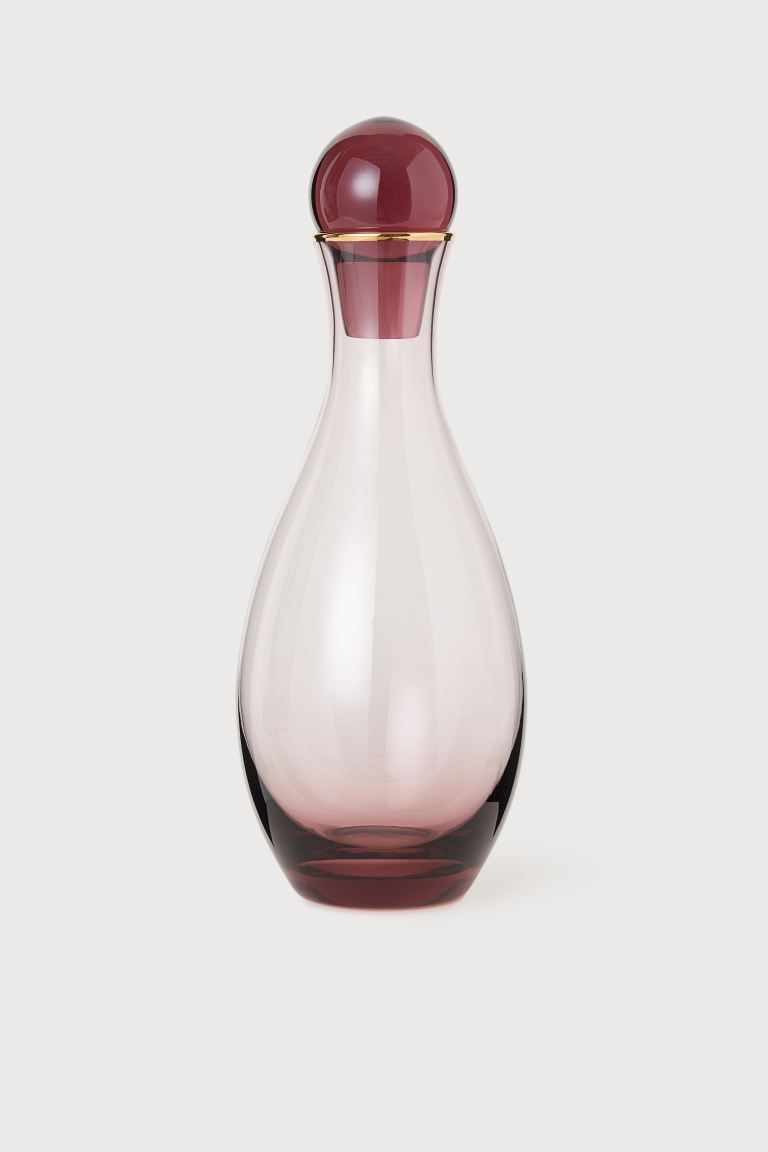 Clear Glass Carafe - Pink - Home All | H&M US