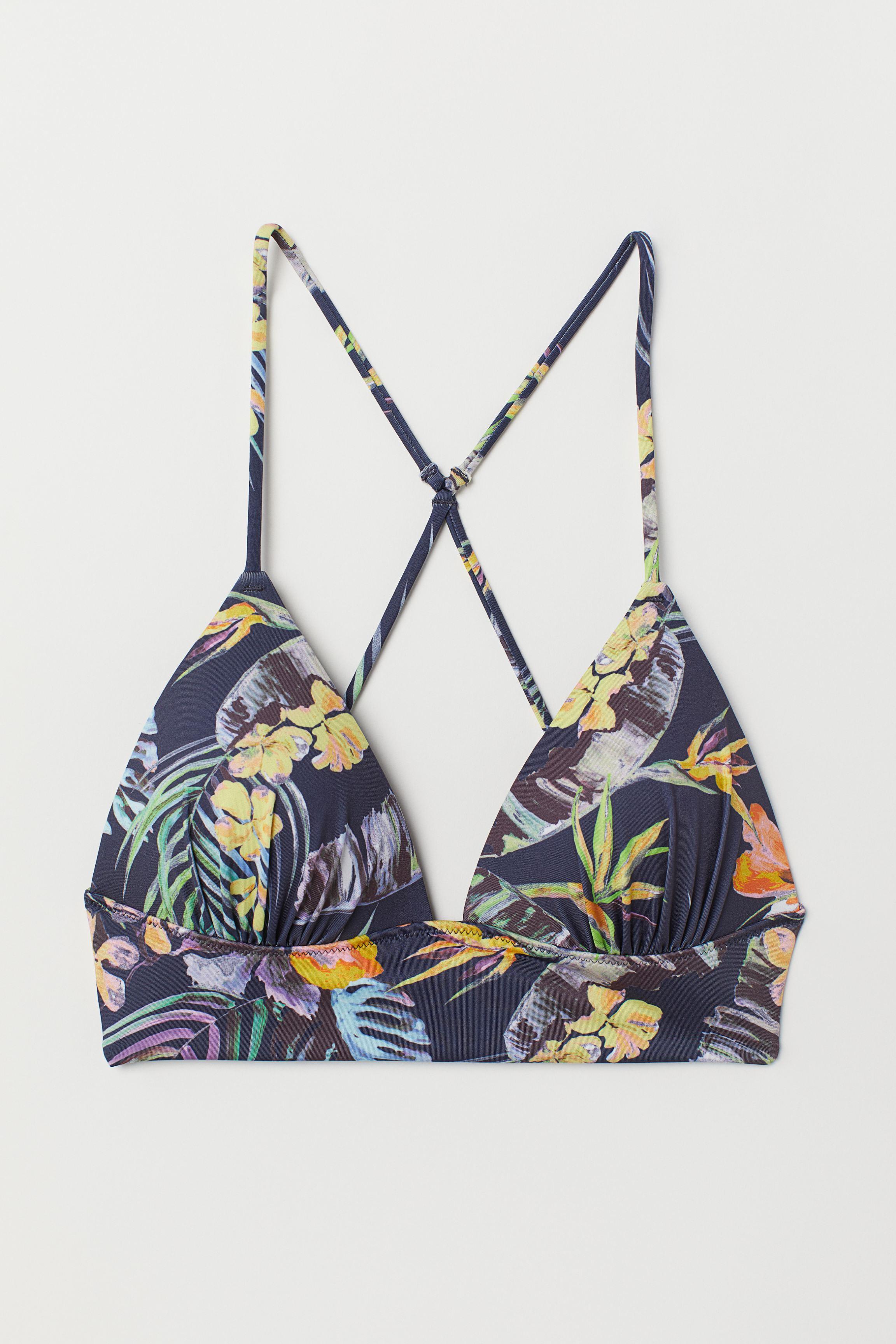 Push-up Triangle Bikini Top