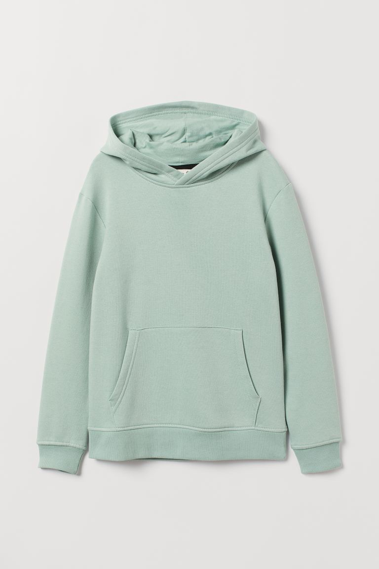 Hooded top - Mint green - Kids | H&M