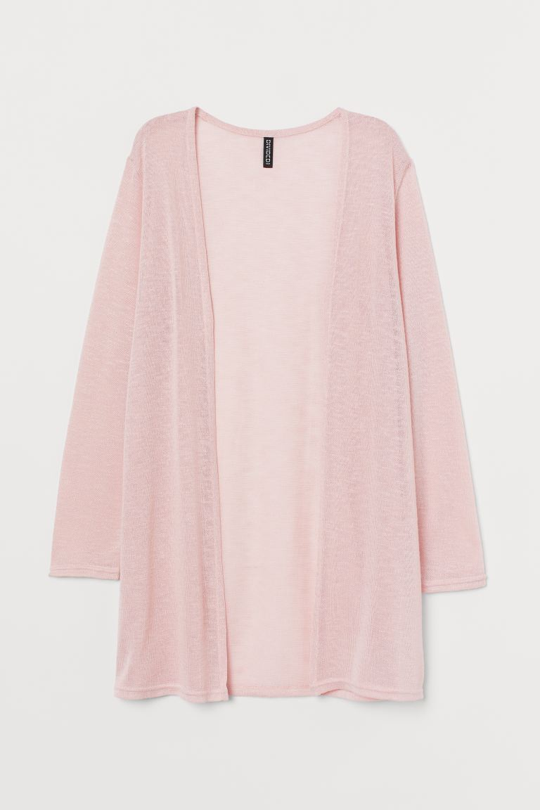 Cardigan a punto largo - Rosa chiaro - DONNA | H&M IT