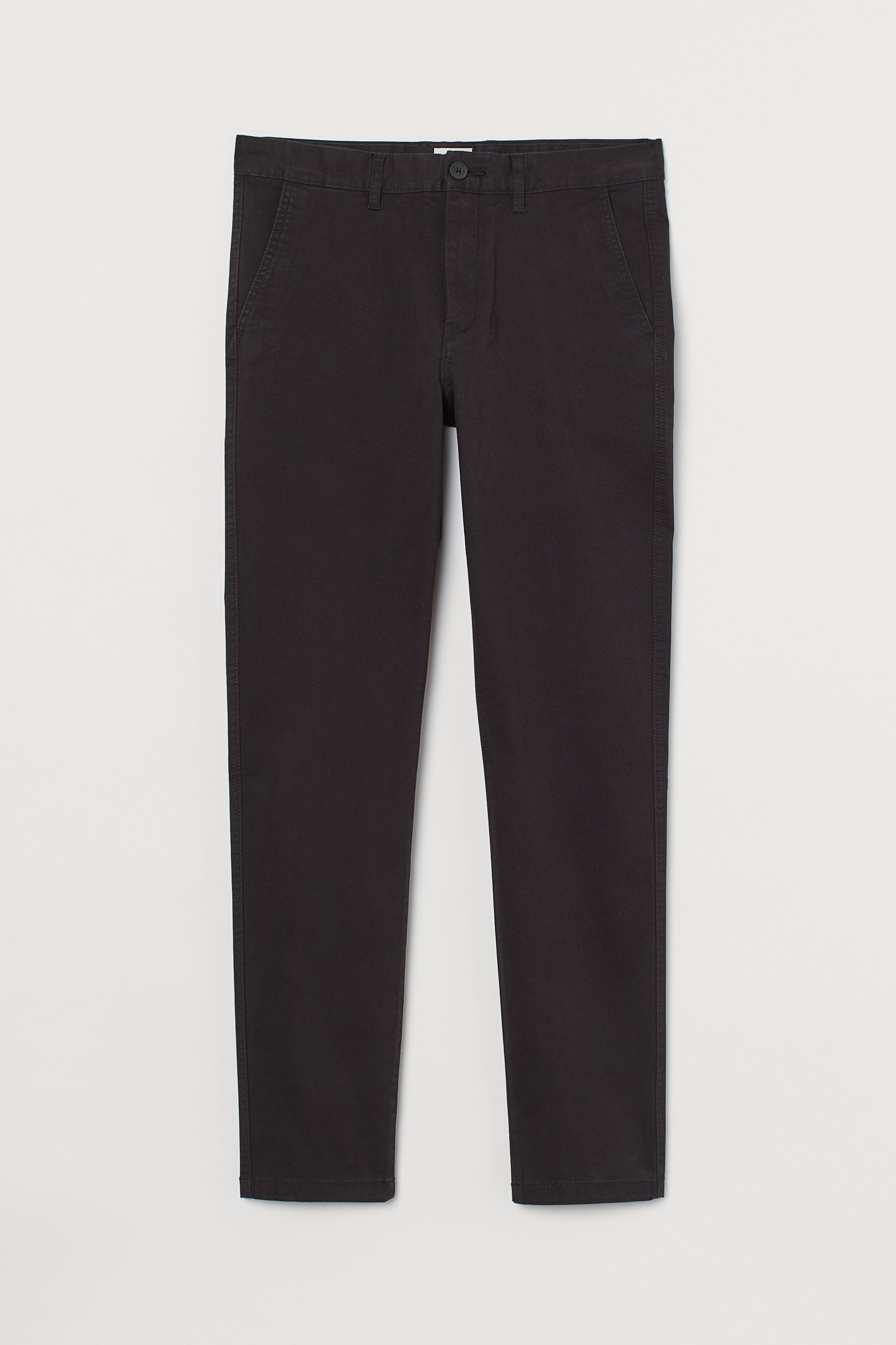 Skinny Fit Cotton Chinos