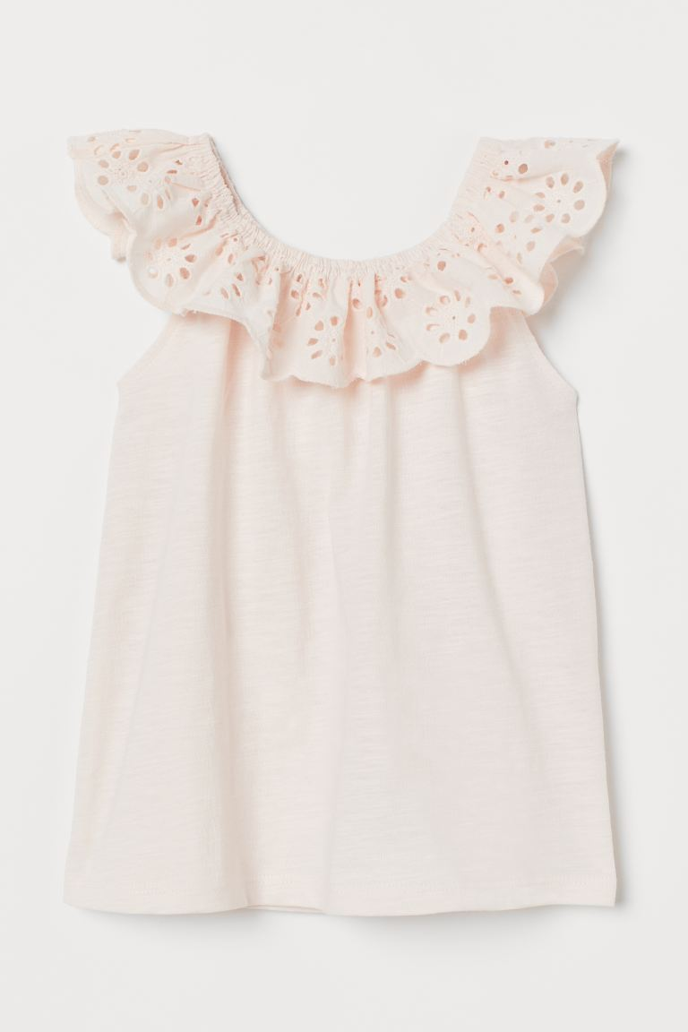 Blouse - Light pink - Kids | H&M US
