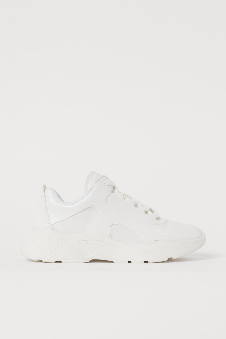 Sneaker mit dicker Sohle - Weiß - Ladies | H&M AT