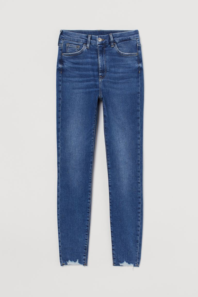 Embrace High Ankle Jeans - Blu denim - DONNA | H&M IT