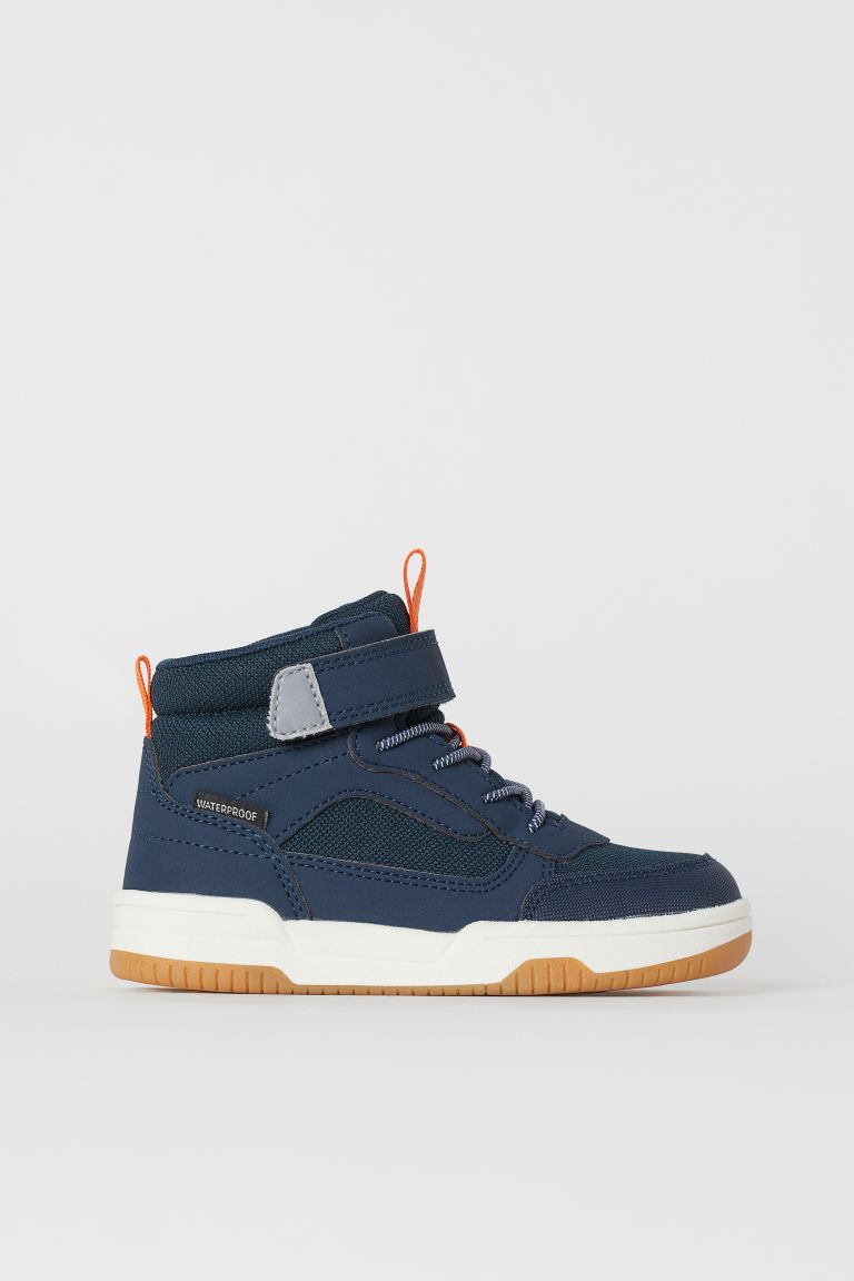 Waterproof High Tops - Dark blue - Kids | H&M US