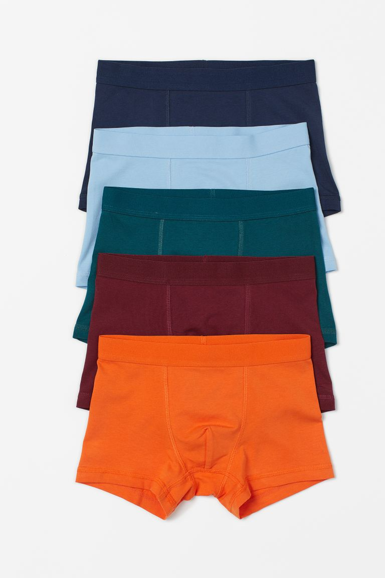 5-pack boxer shorts - Dark red - Kids | H&M