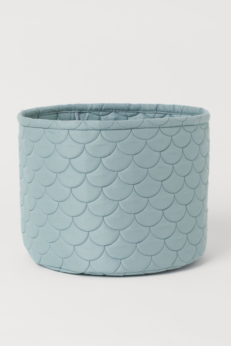 Large storage basket - Light turquoise - Home All | H&M GB