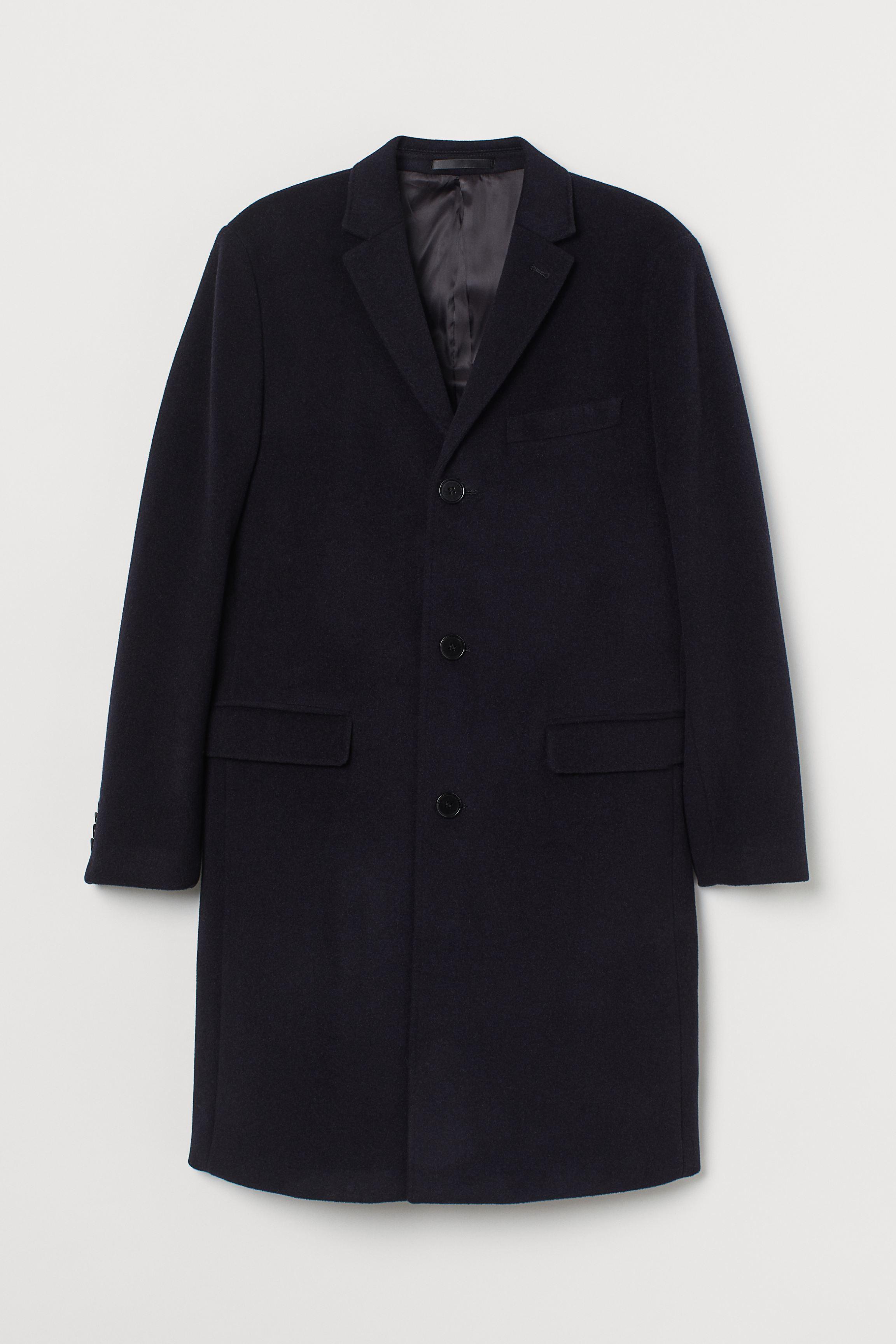 Cashmere-blend Coat