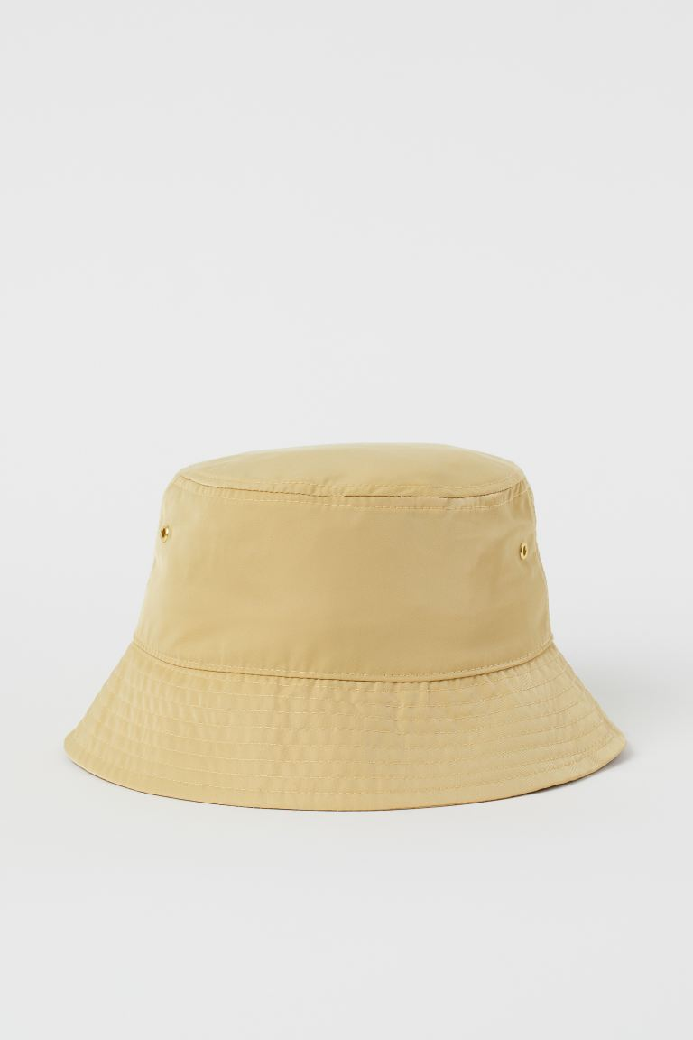 Bucket hat - Light yellow - Ladies | H&M IE