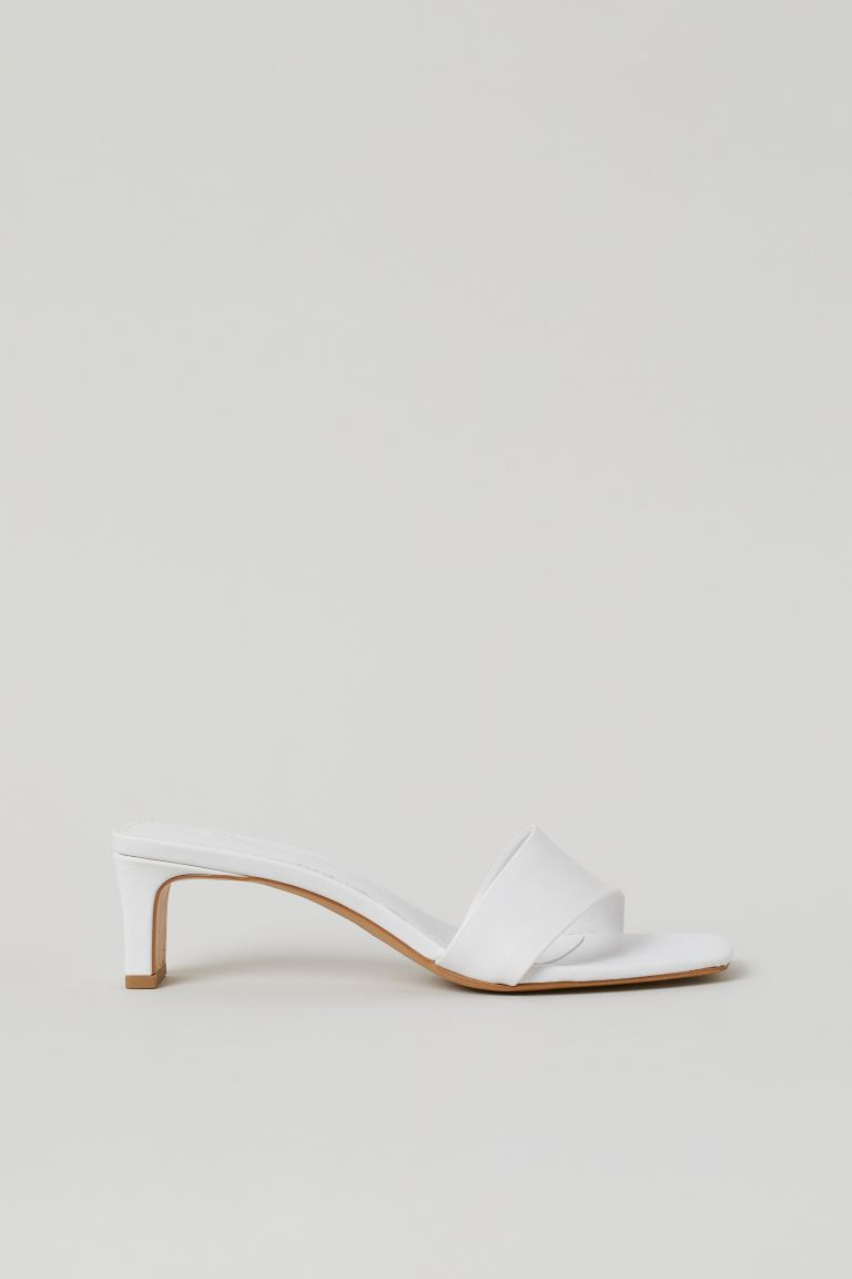 Mules - White - Ladies | H&M