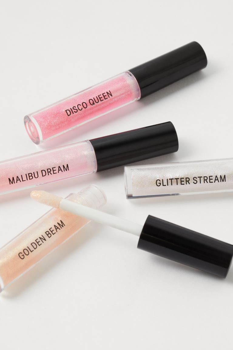 Set van 4 lipgloss - Glam Time - DAMES | H&M BE