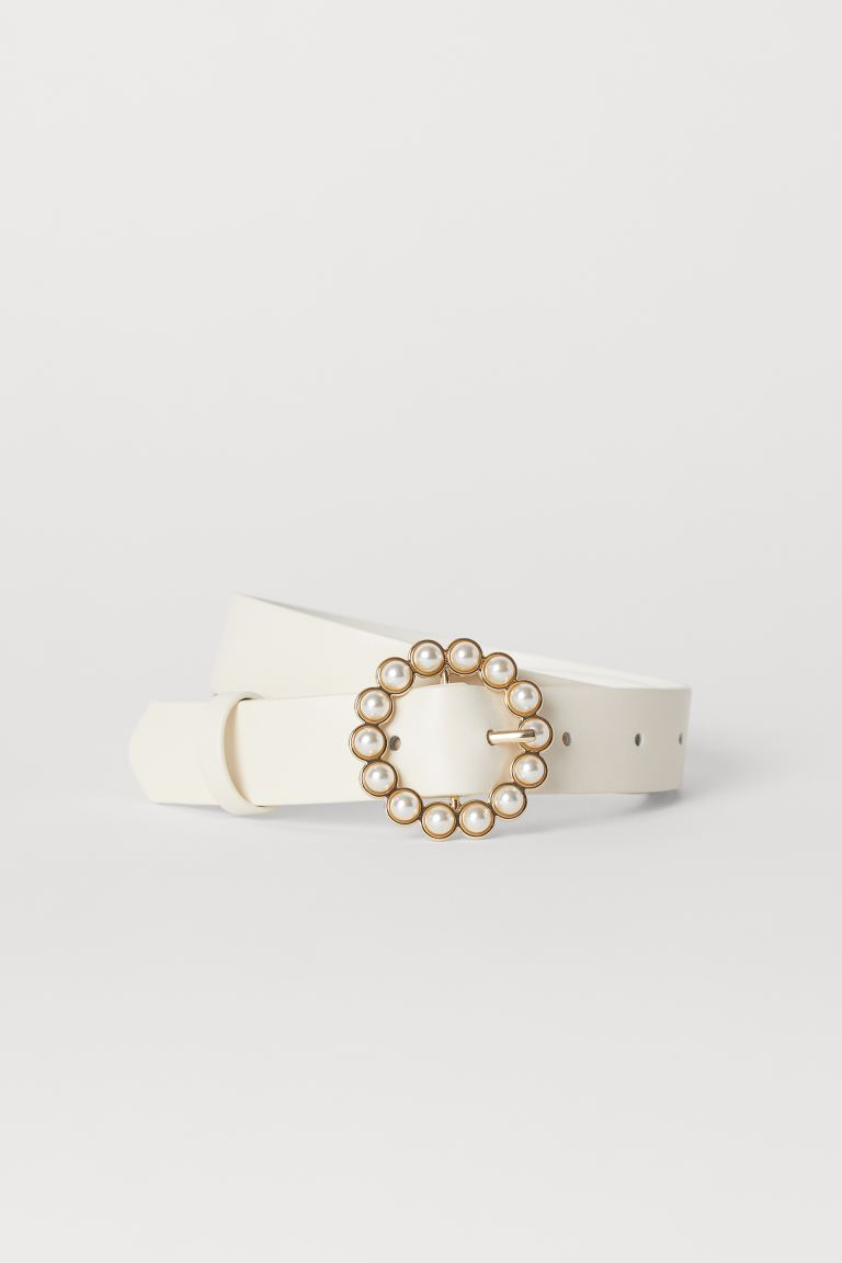 Waist belt - White - Ladies | H&M GB