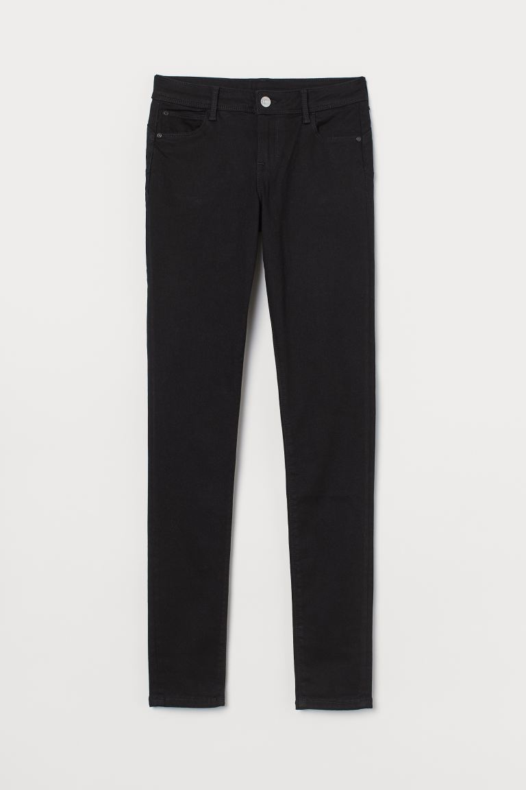 Push up Low Jeggings - Black - Ladies | H&M GB