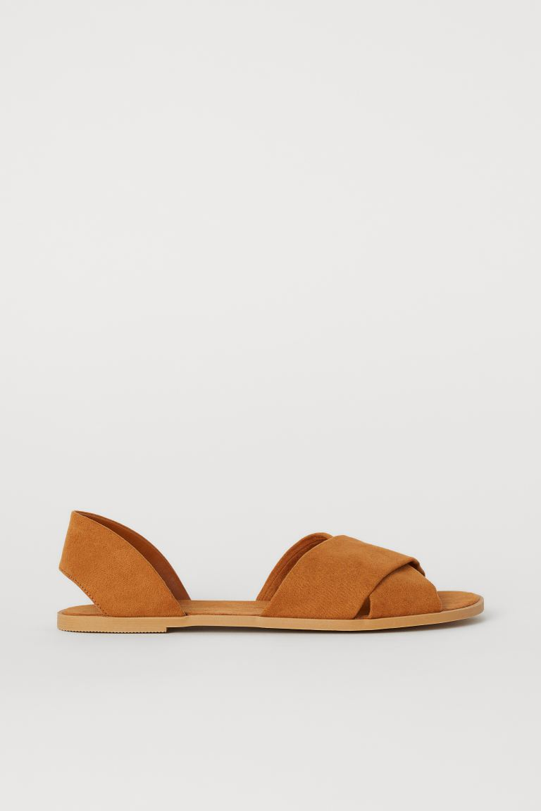 Sandals - Brown - Ladies | H&M IN